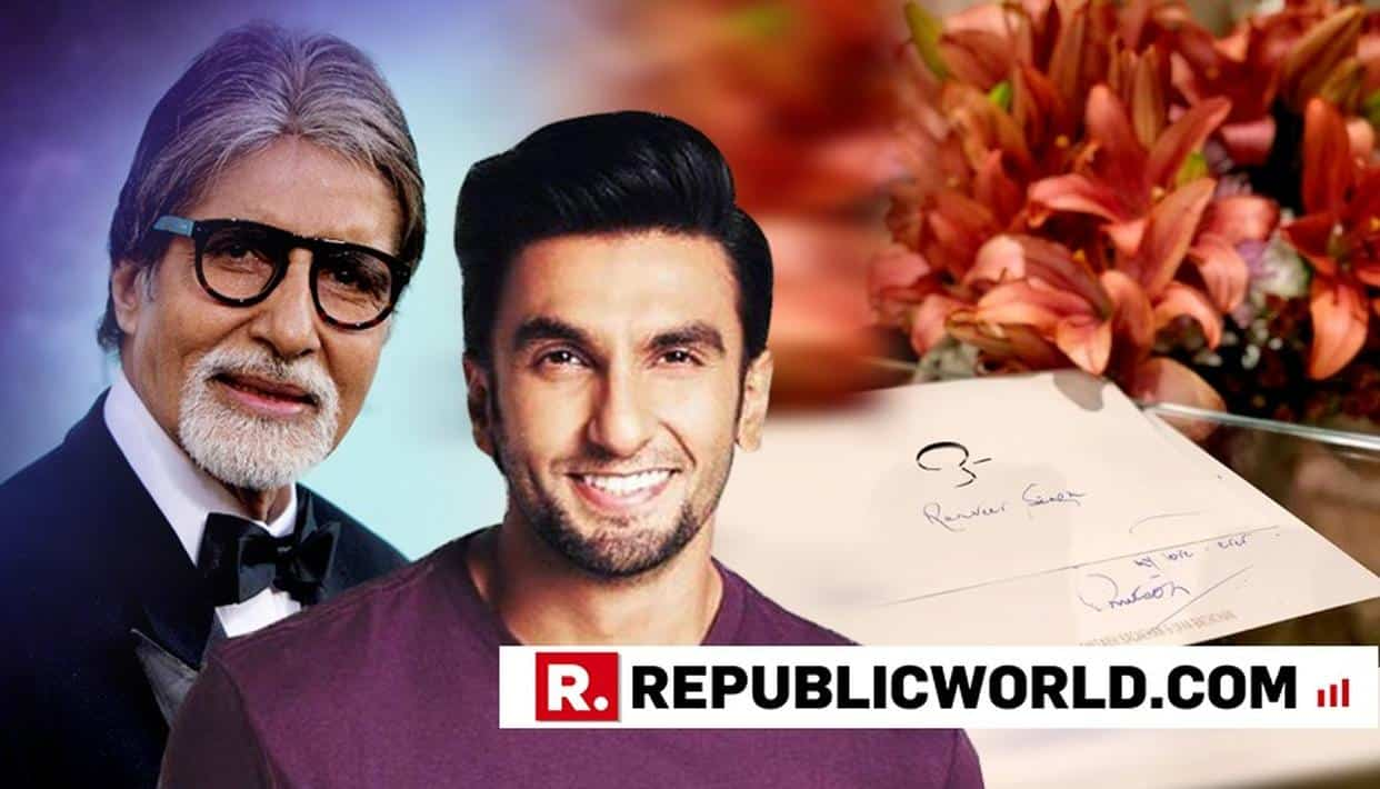Ranveer Singh Receives A Handwritten Note From Amitabh Bachchan, Calls It The Most Prized Award 10