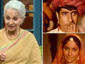 On The Kapil Sharma Show, Waheeda Rehman recalls how she slapped Amitabh Bachchan on the sets of Reshma Aur Shera