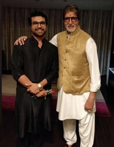 Amitabh Bachchan wishes Ram Charan on his birthday in Telugu