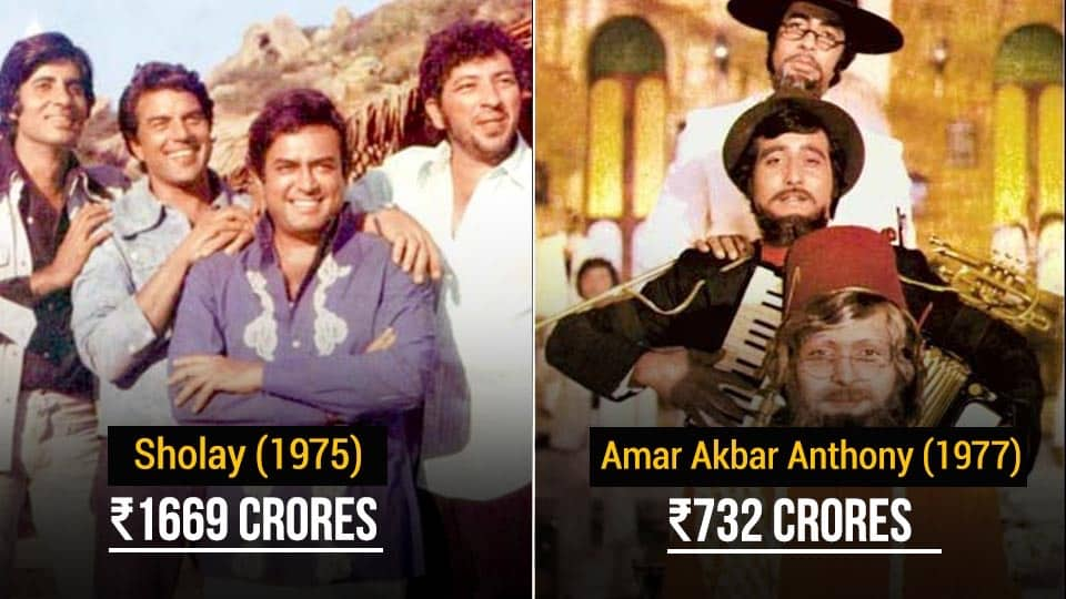 This Is How Much These 4 Iconic Amitabh Bachchan Movies Earned In Today's Currency 5