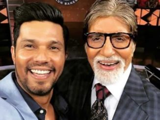 Amitabh Bachchan and Randeep Hooda