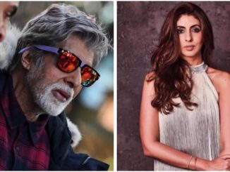 Amitabh Bachchan shoots in minus 3 degrees. Daughter Shweta is bowled over by Daddy Cool 16